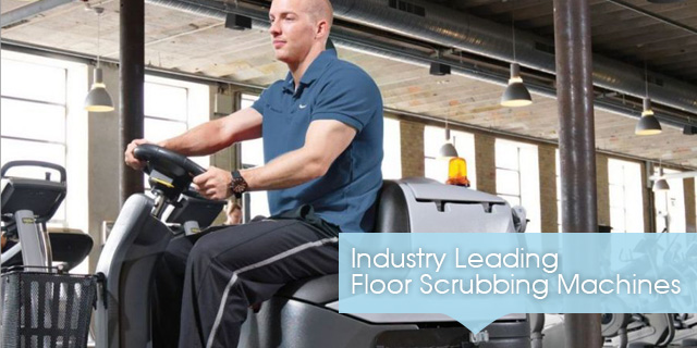 Industry Leading Floor Scrubbing Machines